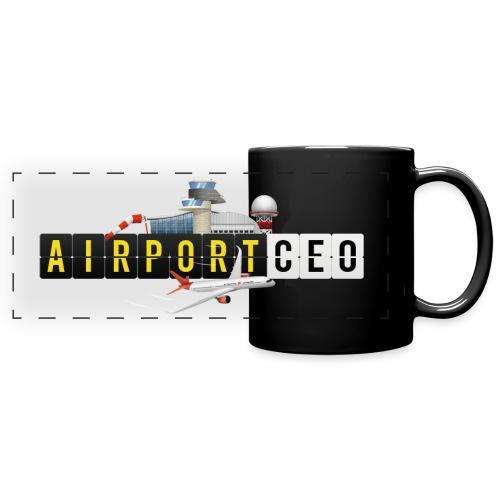 The Airport CEO - Full Colour Panoramic Mug