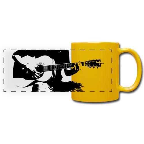 Cynthia Janes guitar BLACK - Full Colour Panoramic Mug