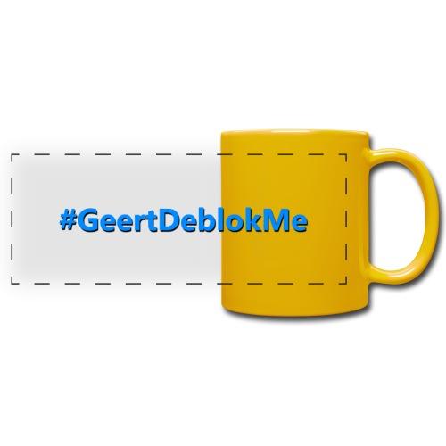 #GeertDeblokme - Panoramamok gekleurd