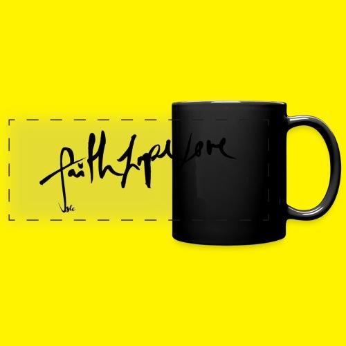 Faith Hope Love - Full Color Panoramic Mug