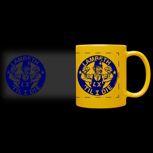 double-sided Bobby police mug design - Full Colour Panoramic Mug