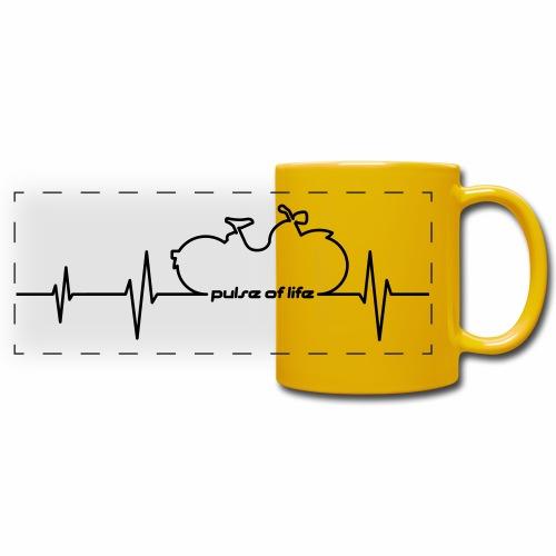 Simson SR1 SR2 EKG - Pulse of Life - Full Color Panoramic Mug