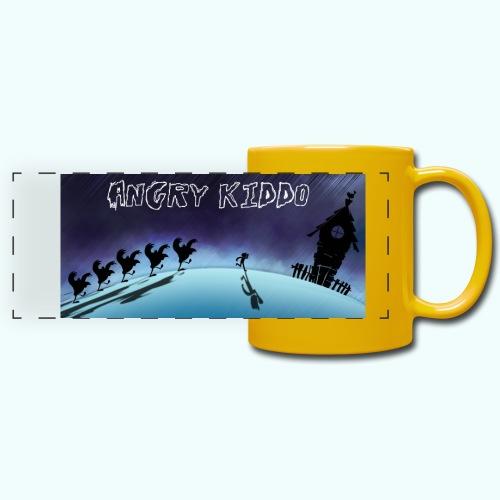 Angry kiddo run - Mug panoramique uni