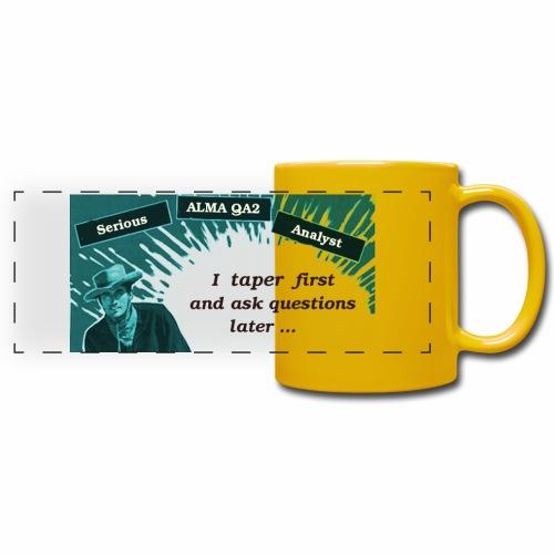 tapering large - Full Color Panoramic Mug
