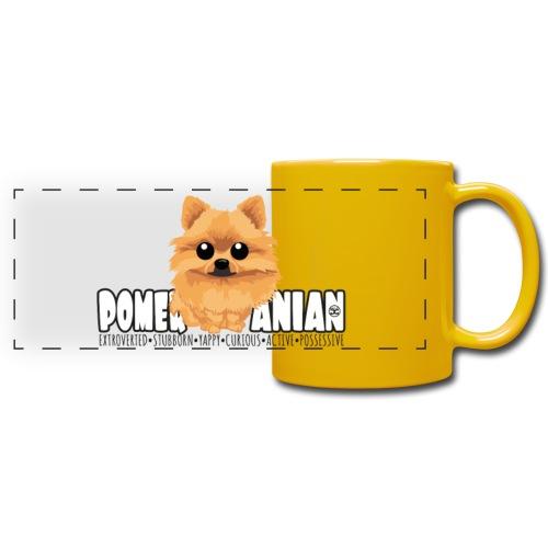 Pomeranian - DGBigHead | mug - Full Color Panoramic Mug