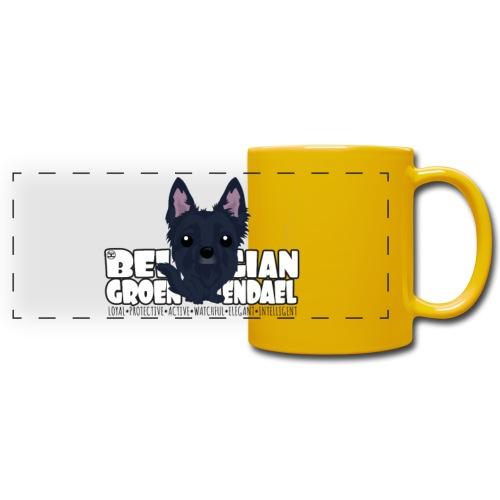 Belgian Groenendael - DGBighead   mug - Full Color Panoramic Mug