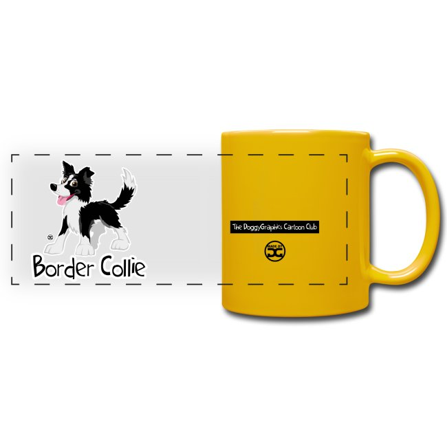 CartoonClub BorderCollie (Black & White) | mug