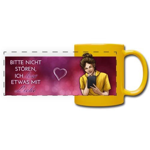 E-Book mit Liebe - Panoramatasse farbig