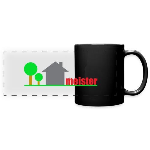 Hausmeister - Panoramatasse farbig