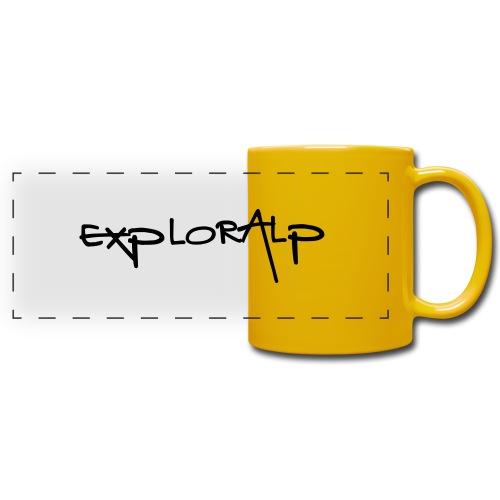 exploralp test oriz - Full Colour Panoramic Mug