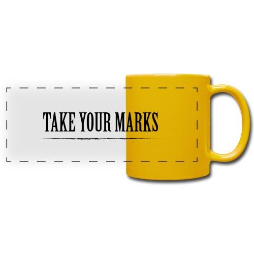TAKE YOUR MARKS - Tazza colorata con vista
