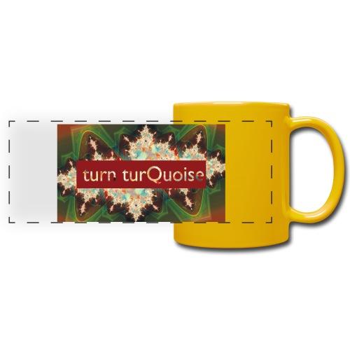 turn turQuoise Logo 2 - Panoramatasse farbig