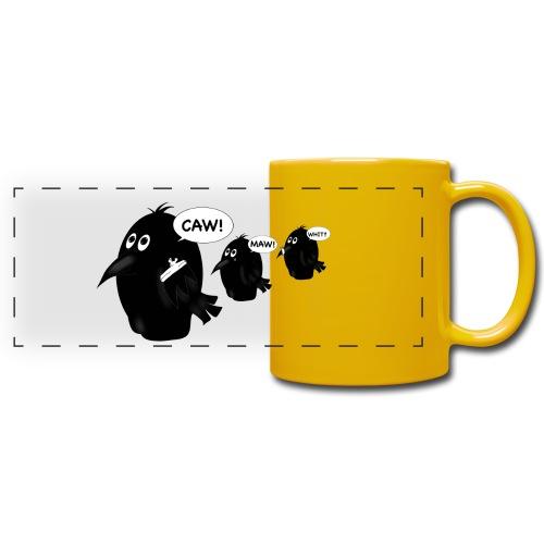 3 craws - Full Color Panoramic Mug