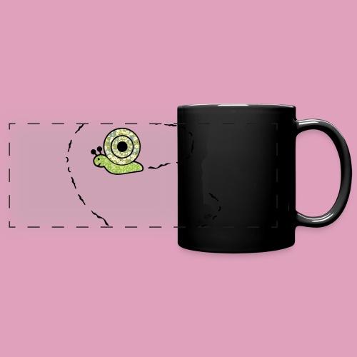 Petit escargot porte sur son dos... (Tasse) - Mug panoramique uni