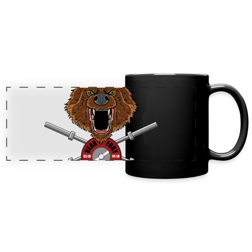 Bear Fury Crossfit - Mug panoramique uni