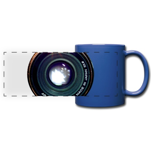 Vintage Pancake Lens - Tazza colorata con vista