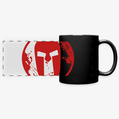 spartan - Full Colour Panoramic Mug