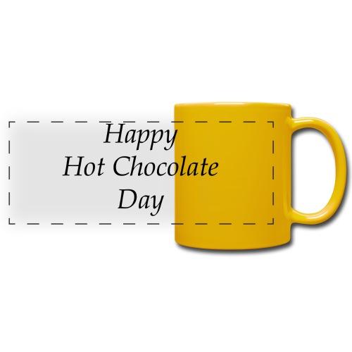Hot Chocolate mug - Panoramamok gekleurd
