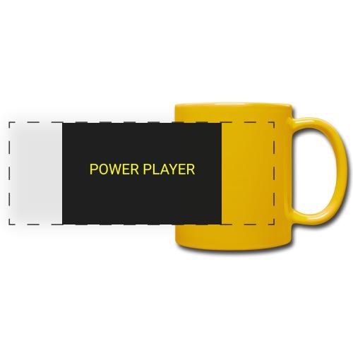 Power player - Tazza colorata con vista