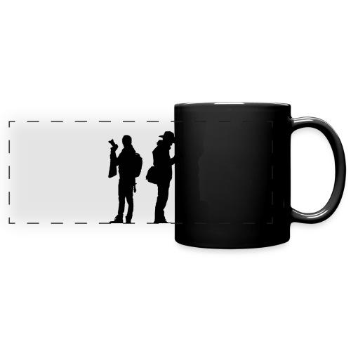 Nous black - Mug panoramique uni
