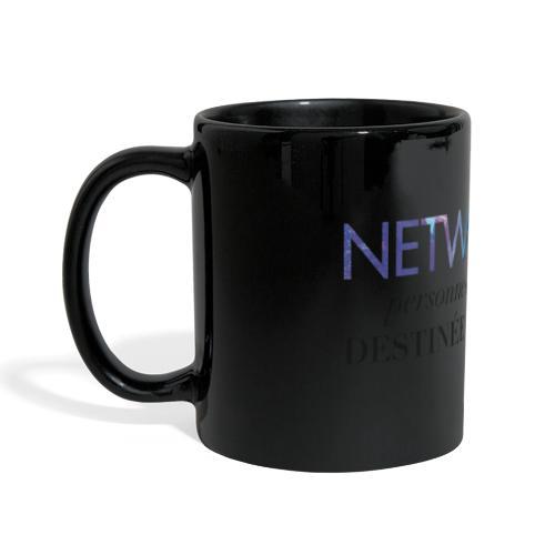 Networker, destiné au succès - Mug panoramique uni