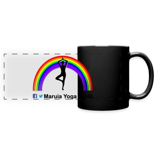 Logo de Maruia Yoga Tahiti - Mug panoramique uni