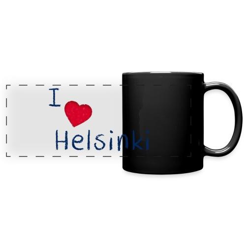 I Love Helsinki - Panoraamamuki värillinen