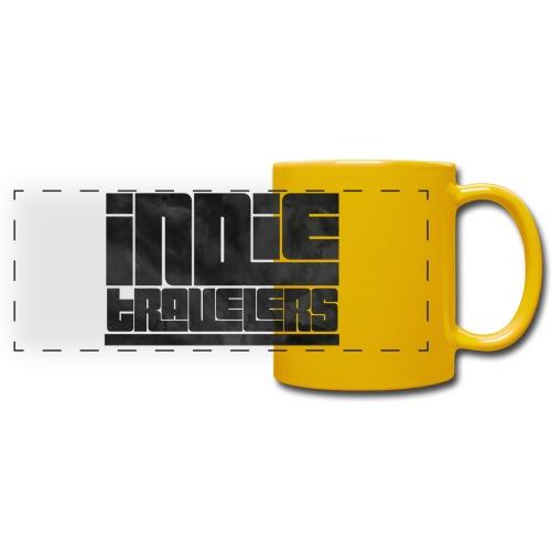 Indie Travelers - Taza panorámica de colores