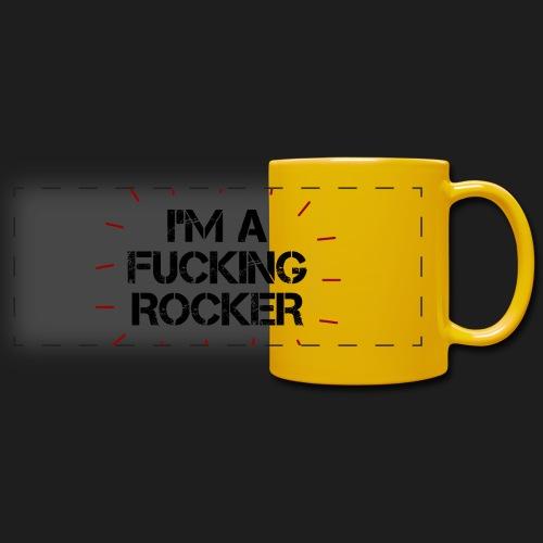 I'M A FUCKING ROCKER - Tazza colorata con vista