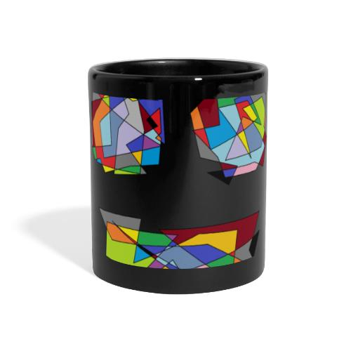 TheFace - Panoramatasse farbig
