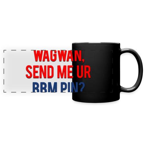 Wagwan Send BBM Clean - Full Colour Panoramic Mug