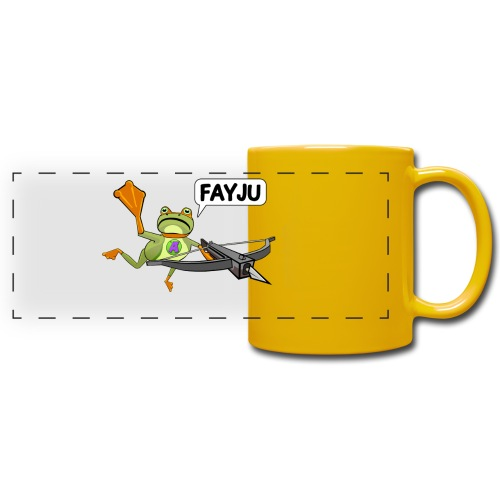 Amazing Frog Crossbow - Full Color Panoramic Mug