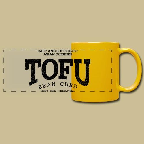 Tofu (black oldstyle) - Panoramatasse farbig