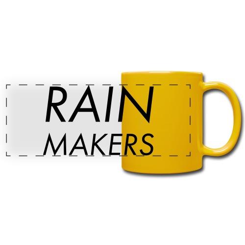 rainmakertext - Panoraamamuki värillinen