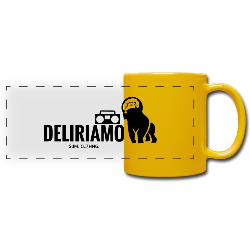DELIRIAMO CLOTHING (GdM01) - Tazza colorata con vista
