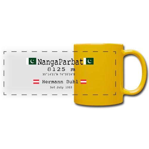 NangaPArbat20-01Black - Tazza colorata con vista