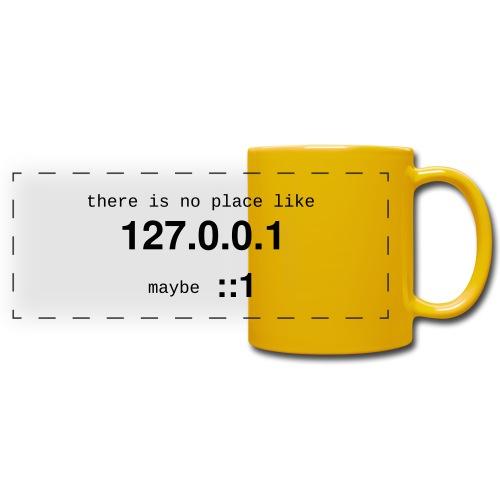 127-0-0-1-::1 - Mug panoramique uni