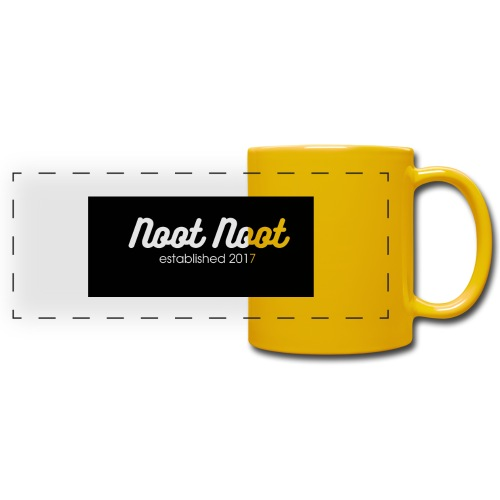Noot Noot established 2017 - Full Colour Panoramic Mug