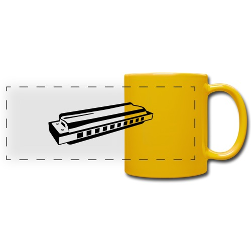Harmonica - Full Color Panoramic Mug