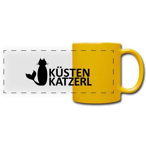 Küstenkatzerl - Panoramatasse farbig