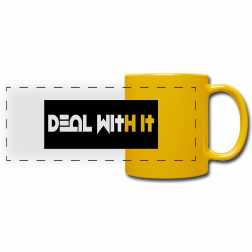 Deal With It products - Full Color Panoramic Mug