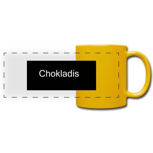 Chokladis Logo - Färgad panoramamugg