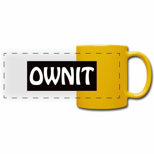 OWNIT logo - Full Colour Panoramic Mug