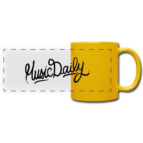 MusicDaily Logo - Panoramamok gekleurd