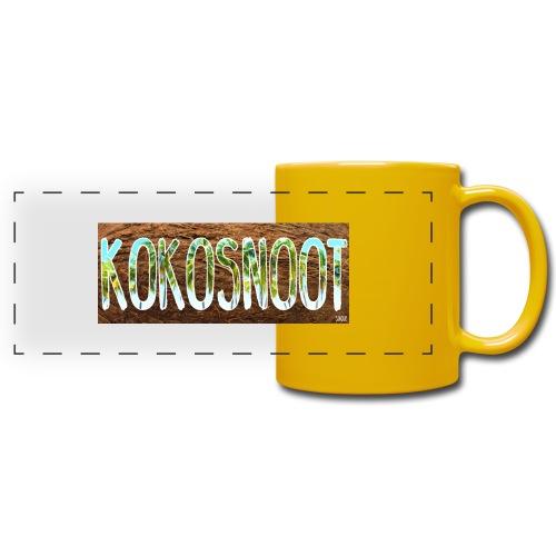 Kokosnoot - Panoramamok gekleurd