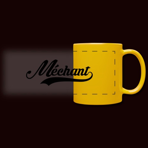 mechant_logo - Mug panoramique uni