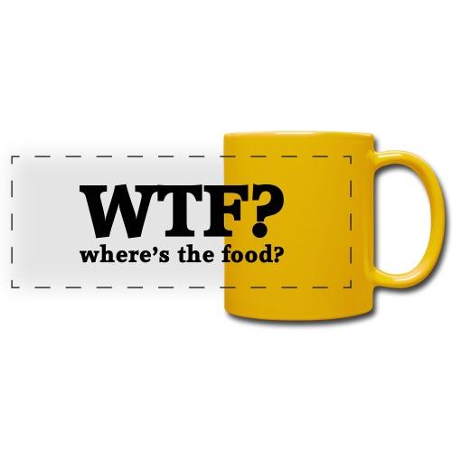 WTF - Where's the food? - Panoramamok gekleurd