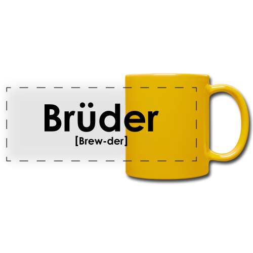Brüder IPA - Full Colour Panoramic Mug