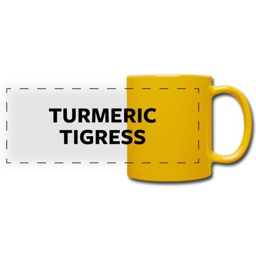 Turmeric Tigress - Full Color Panoramic Mug