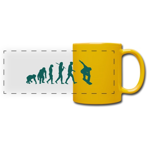 evolution_of_snowboarding - Panoramamok gekleurd